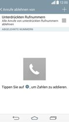 LG D855 G3 - Anrufe - Anrufe blockieren - Schritt 7