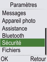 Doro Phone Easy 621 - Sécuriser votre mobile - Activer le code de verrouillage - Étape 4