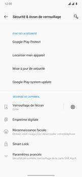 OnePlus 7T Pro - Sécuriser votre mobile - Activer le code de verrouillage - Étape 12