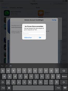 Apple iPad Pro 9.7 inch - Apps - Konto anlegen und einrichten - 33 / 35