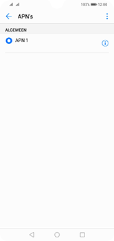 Huawei Y7 (2019) - Internet - handmatig instellen - Stap 8