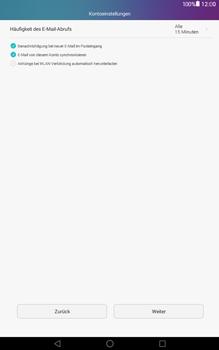 Huawei MediaPad T1 (10.0) LTE - E-Mail - Konto einrichten (yahoo) - Schritt 7