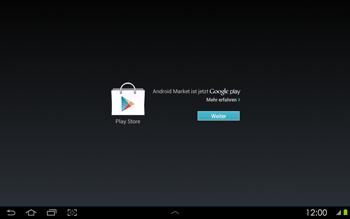 Samsung Galaxy Tab 2 10-1 - Apps - Konto anlegen und einrichten - 14 / 17