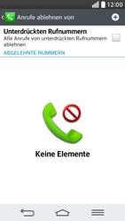 LG G2 mini - Anrufe - Anrufe blockieren - 7 / 12