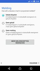 Sony Xperia XZ Premium - E-mail - Handmatig instellen - Stap 14