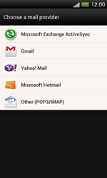 HTC One SV - E-mail - Manual configuration - Step 5