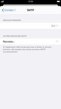 Apple iPhone 8 Plus - iOS 13 - E-mail - configuration manuelle - Étape 20