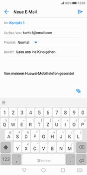 Huawei Mate 10 Pro - E-Mail - E-Mail versenden - 9 / 18