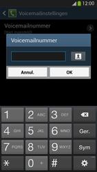 Samsung Galaxy S4 VE 4G (GT-i9515) - Voicemail - Handmatig instellen - Stap 8