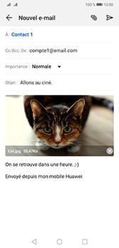 Huawei Mate 20 - E-mail - envoyer un e-mail - Étape 14