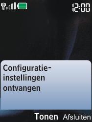 Nokia 6600i slide - Internet - Automatisch instellen - Stap 3