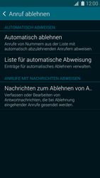Samsung Galaxy S5 Mini - Anrufe - Anrufe blockieren - 6 / 13