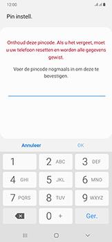 Samsung Galaxy A50 - Beveiliging - stel in of wijzig pincode voor je toestel - Stap 9