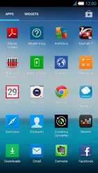 Alcatel One Touch Idol S - Internet and data roaming - using the Internet - Step 3