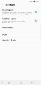 Samsung Galaxy S8 Plus - Android Oreo - Internet e roaming dati - Disattivazione del roaming dati - Fase 6