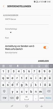Samsung Galaxy A8 Plus (2018) - E-Mail - Konto einrichten - Schritt 13