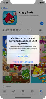 Apple iPhone X - apps - app store gebruiken - stap 15