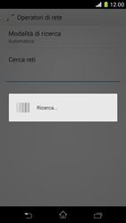 Sony Xperia Z1 Compact - Rete - Selezione manuale della rete - Fase 7