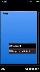 Sony Ericsson U5i Vivaz - E-Mail - Konto einrichten - Schritt 28