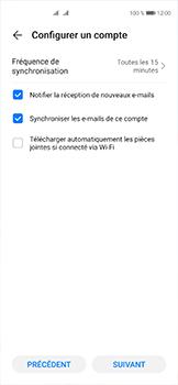 Huawei P40 - E-mails - Ajouter ou modifier votre compte Yahoo - Étape 7