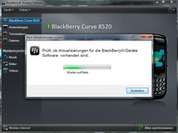 BlackBerry 8520 Curve - Software - Update - Schritt 5
