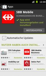 Samsung Galaxy S Advance - Apps - Installieren von Apps - Schritt 23