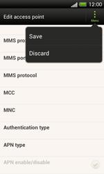 HTC C525u One SV - Internet - Manual configuration - Step 14