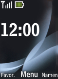 Nokia 2720 fold - SMS - Handmatig instellen - Stap 1
