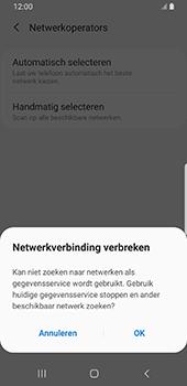 Samsung galaxy-s9-sm-g960f-android-pie - Netwerk selecteren - Handmatig een netwerk selecteren - Stap 9