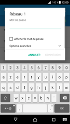 Sony Xperia Z5 - Android Nougat - Wifi - configuration manuelle - Étape 6
