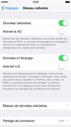 Apple iPhone 6 iOS 8 - Internet et roaming de données - Désactivation du roaming de données - Étape 4