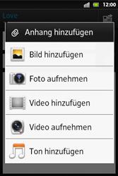 Sony Xperia Go - E-Mail - E-Mail versenden - Schritt 10