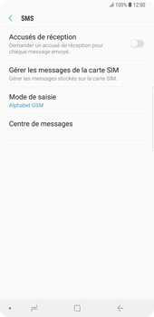 Samsung Galaxy Note9 - SMS - Configuration manuelle - Étape 8
