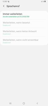 Samsung Galaxy A80 - Anrufe - Rufumleitungen setzen und löschen - Schritt 12
