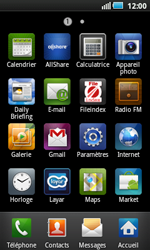 Samsung I5800 Galaxy Apollo - Internet - configuration manuelle - Étape 4