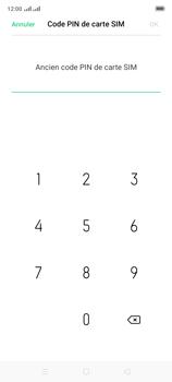 Oppo A9 2020 - Sécuriser votre mobile - Personnaliser le code PIN de votre carte SIM - Étape 8