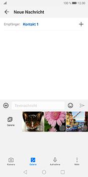 Huawei Mate 10 Pro - Android Pie - MMS - Erstellen und senden - Schritt 10