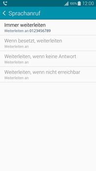 Samsung N910F Galaxy Note 4 - Anrufe - Rufumleitungen setzen und löschen - Schritt 12
