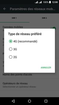 Acer Liquid Z630 - Réseau - Changer mode réseau - Étape 8