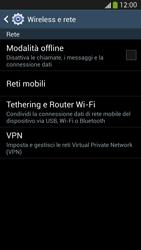 Samsung Galaxy S 4 LTE - Internet e roaming dati - Disattivazione del roaming dati - Fase 5