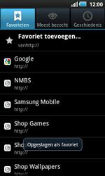Samsung I5800 Galaxy Apollo - Internet - internetten - Stap 10