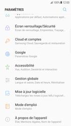Samsung Galaxy S6 Edge - Android Nougat - Téléphone mobile - Réinitialisation de la configuration d