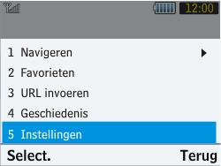 Samsung S3570 Chat 357 - Internet - handmatig instellen - Stap 17