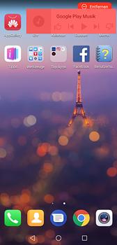 Huawei P20 - Startanleitung - Installieren von Widgets und Apps auf der Startseite - Schritt 12