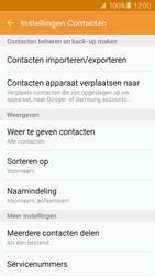 Samsung Galaxy A5 2016 (SM-A510F) - Contacten en data - Contacten kopiëren van toestel naar SIM - Stap 6