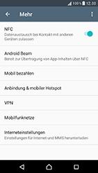 Sony Xperia XZ - Netzwerk - Netzwerkeinstellungen ändern - Schritt 5