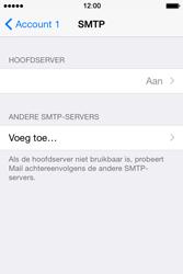 Apple iPhone 4S (iOS 8) - e-mail - handmatig instellen - stap 20