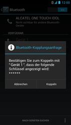 Alcatel One Touch Idol - Bluetooth - Verbinden von Geräten - Schritt 8