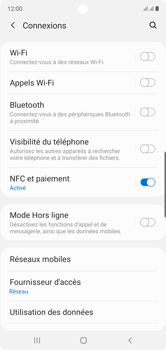 Samsung Galaxy Note 10 - MMS - Configuration manuelle - Étape 5