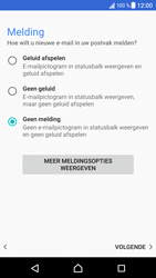 Sony Xperia XZ (F8331) - Android Nougat - E-mail - Account instellen (POP3 zonder SMTP-verificatie) - Stap 20